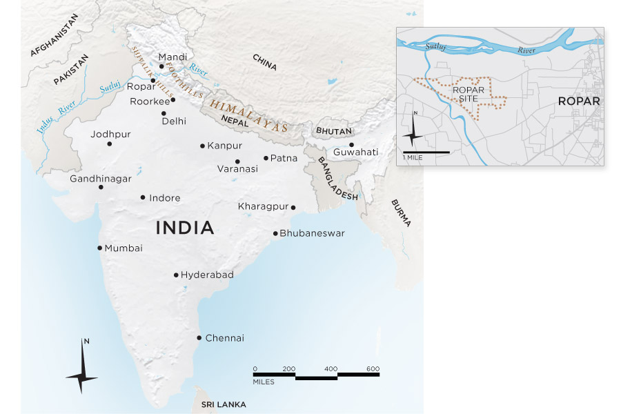 India-IT-map