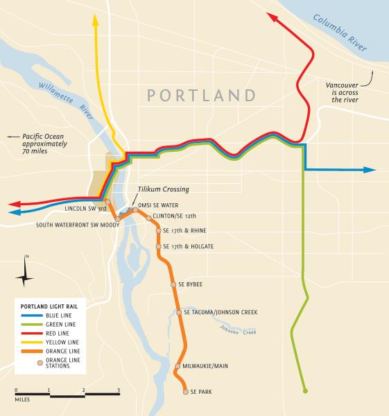 LAM-Portland-Map